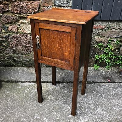 Antique Oak Pot Cupboard
