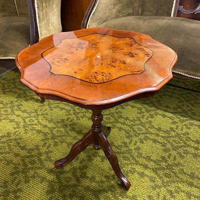 Antique Style Tripod Coffee Table