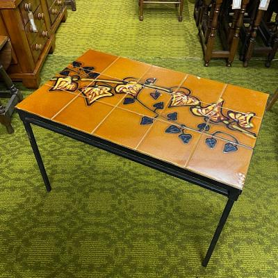 Belgian Adri Tiled Top Table