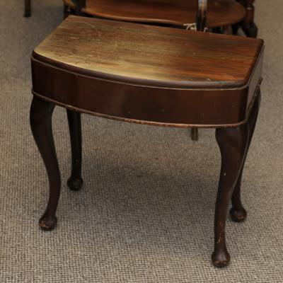 Bow Front Occasional Table