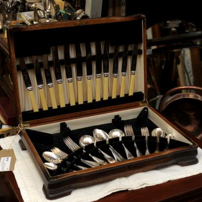 Canteen Of Silver Plated Corts Cutlery
