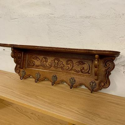 Carved Coat Rack