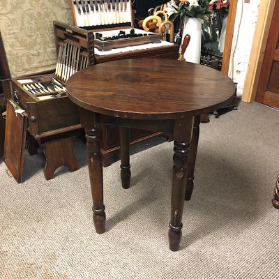 Chunky Vintage Small Dining Table