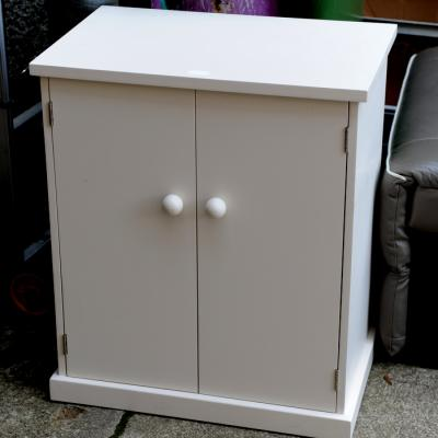 Cream Two Door Cupboard