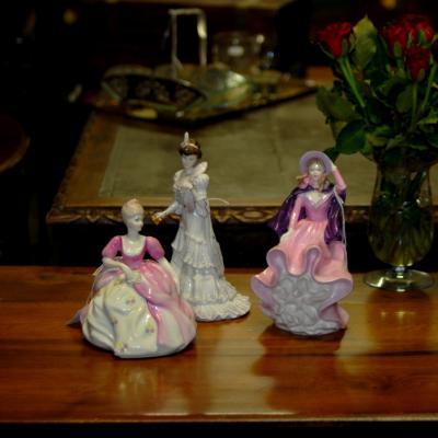 China Lady Figurines