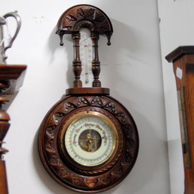 Wooden Framed Barometer