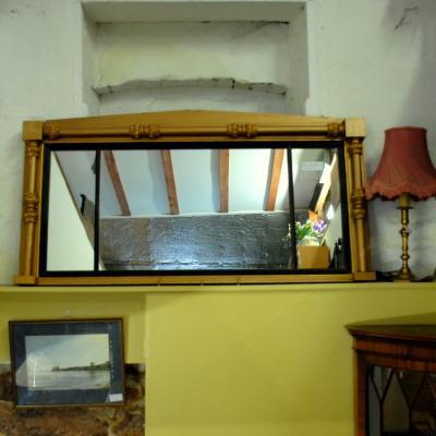 Gilt Regency Style Mirror