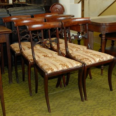Antique Set of 6 Dining Chairs