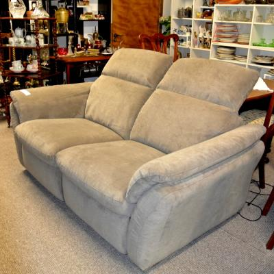Mink Reclining 2 Seater Sofa