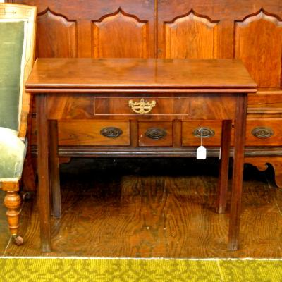 Georgian Fold-Over Tea Table