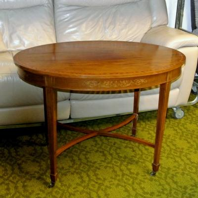 Edwardian Oval Centre Table