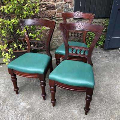 Edwardian Mahogany Dining Chair
