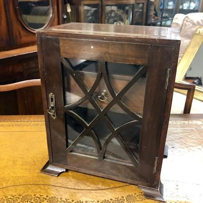 Edwardian Mahogany Smokers Cabinet
