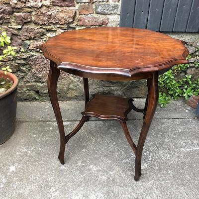Edwardian Walnut Occasional Table