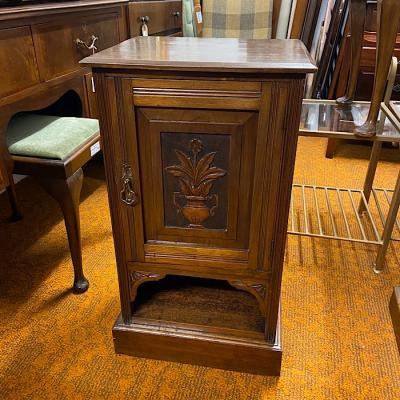 Edwardian Walnut Pot Cupboard