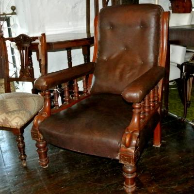Late Victorian Armchair