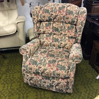 Electric Recliner Wingback Armchair