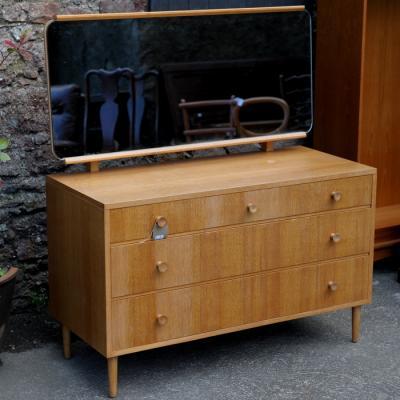 Ercol Style Oak Dressing Table