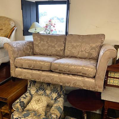 Floral Pattern Two Seater Sofa