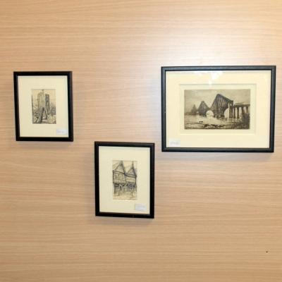 Framed Black and White Prints