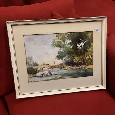 Framed Watercolour by Jack Green