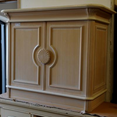 French Style Limed Beech Sideboard