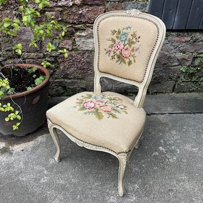 French Style Needle Point Chair