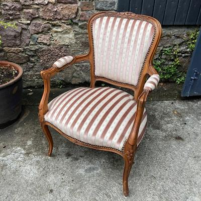 French Vintage Style Armchair
