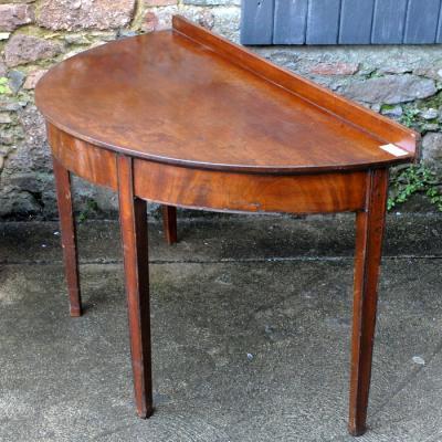 Georgain Demi-Lune Hall Table