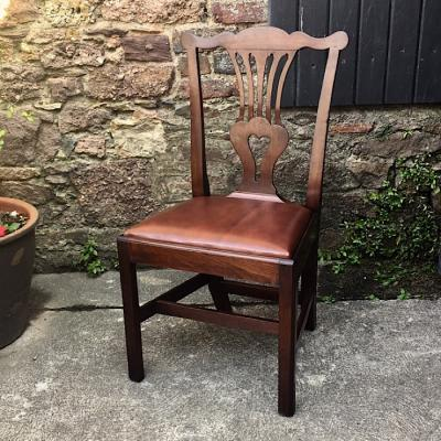 Georgian Mahogany Dining Chair