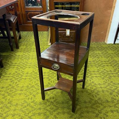 Georgian Mahogany Wash Stand