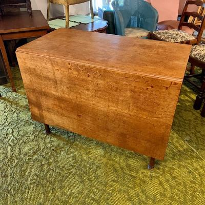 Georgian Oak Drop-Leaf Table