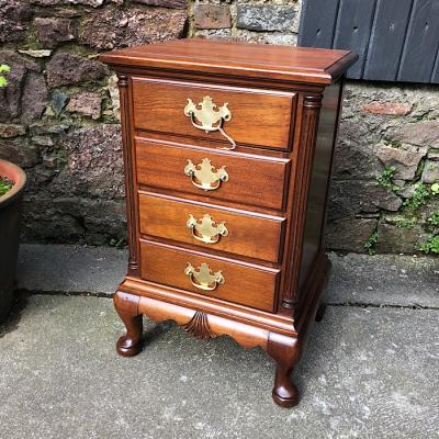 Georgian Style Small Chest Of Drawers