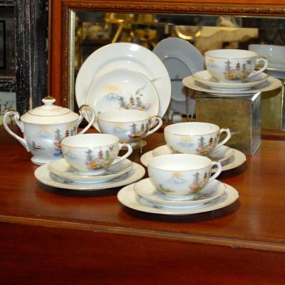 Japanese Tea Set of 5