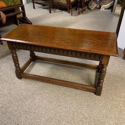 Joint Oak Small Table Bench