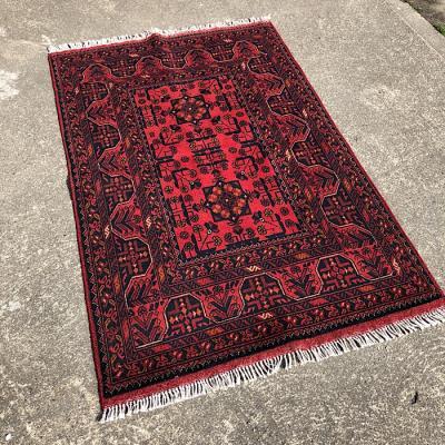 Khan Afghan Hand Woven Rug