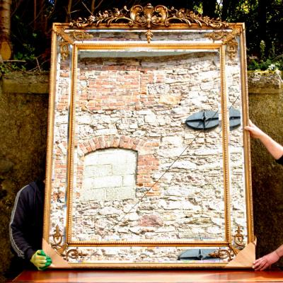 Large French Style Mirror