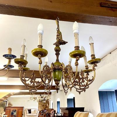 Large Onyx Chandelier