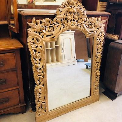 Large Ornate Giltwood Mirror