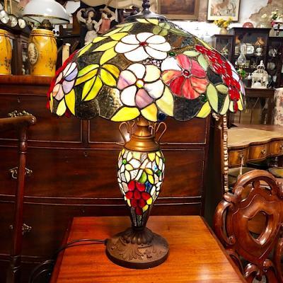 Large Tiffany Style Lamp