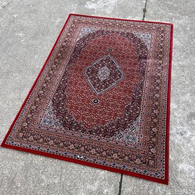 Large Traditional Red & Blue Rug