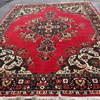Large Vintage Floor Rug