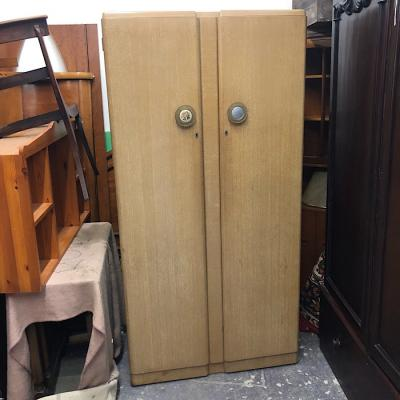 Vintage Limed Oak three Piece Bedroom Suite