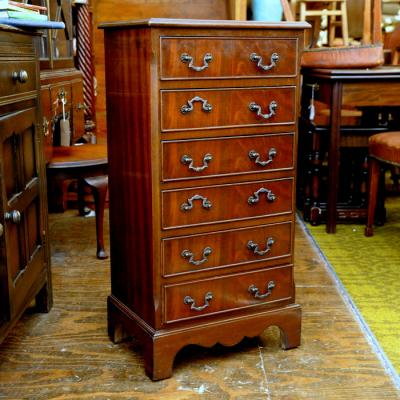 Mahogany Chest Of Six Drawers