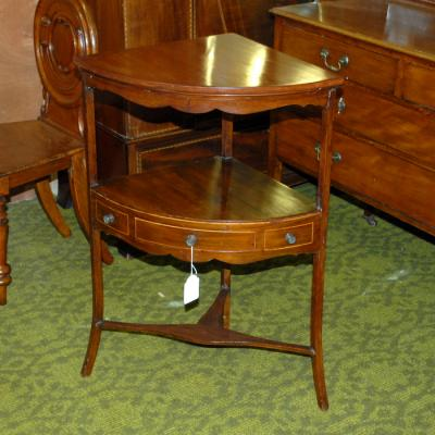Mahogany Corner Table