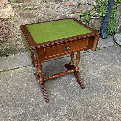 Mahogany Drop-Leaf Occasional Table