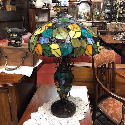 Multi-Coloured Tiffany Style Lamp