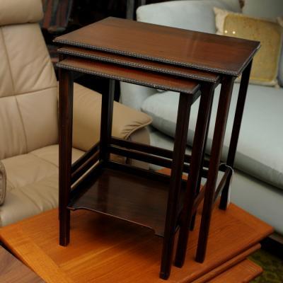 Nest Of Mahogany Tables