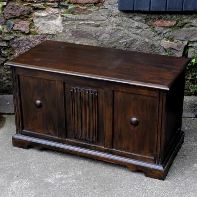 Oak Blanket Chest