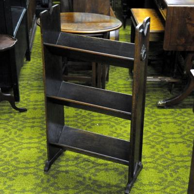 Oak Book Stand